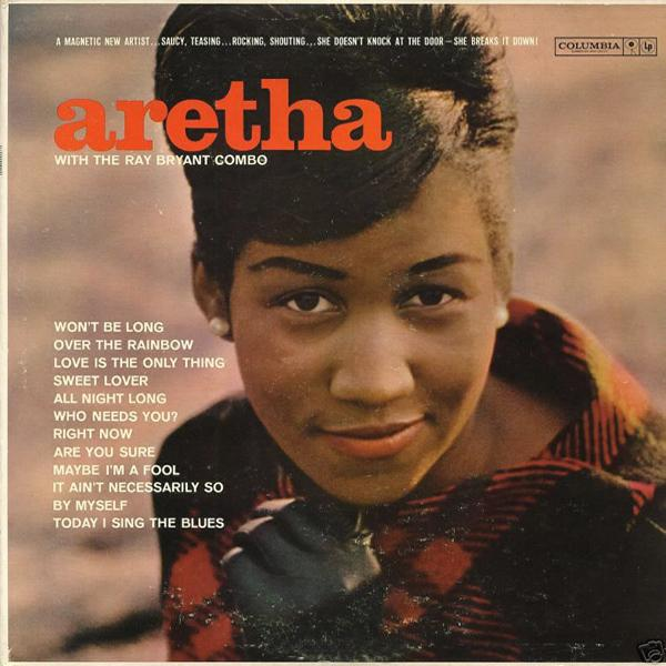 Album cover for one of Aretha Franklin's early releases on Columbia records