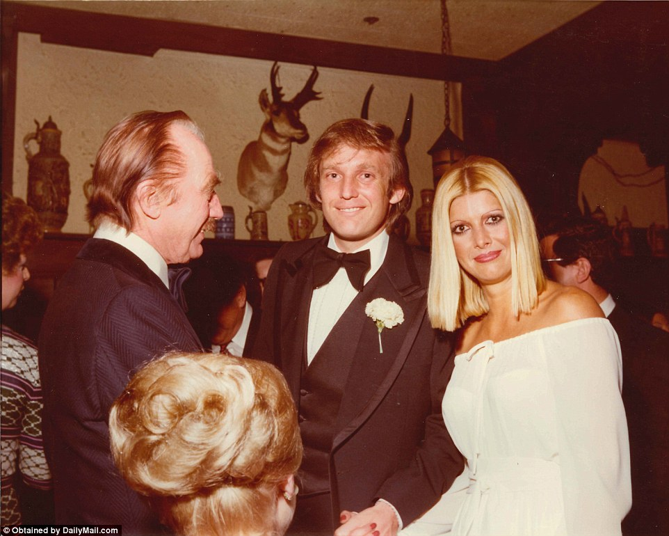 Young, rich, draft dodging Donald clubbing in NYC in the 70s, while John McCain was staying in the exclusive Hanoi Hilton