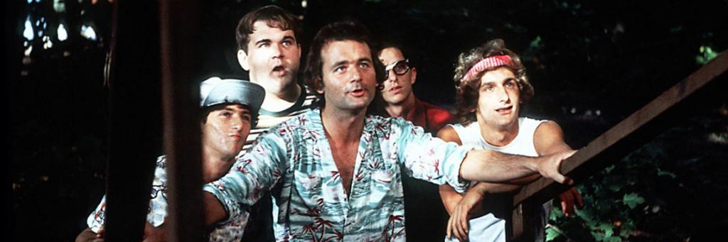 "still from Ivan Reitman's classic summer camp comedy starring Bill Murray - ""Meatballs"""