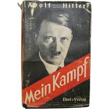 Mein Kampf book by Hitler.