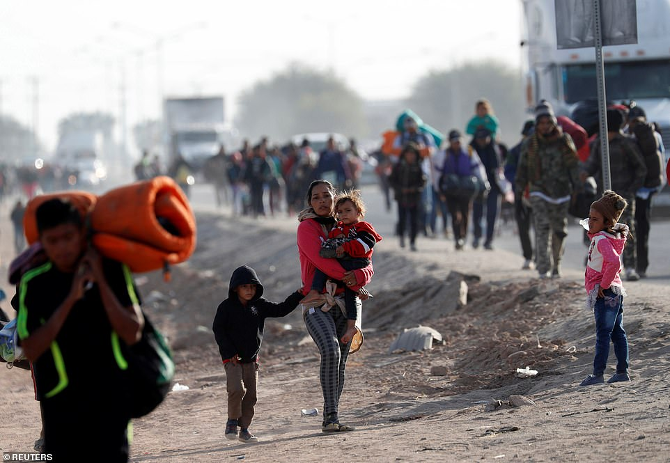 Refugees of the violence that rages in the 'Northern Triangle' of Central America, where the crime rate is 800 times that of the United States.