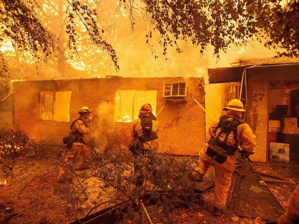 California wildfires.