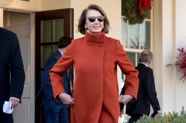 The incoming Speaker of the House, Nancy Pelosi emerges victorious from Tuesday's engagement with President Trump.