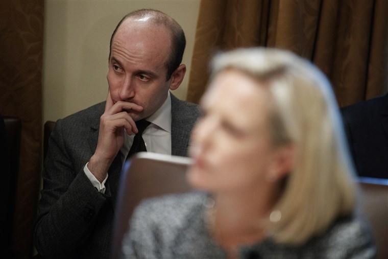 Presidential adviser Stephen Miller