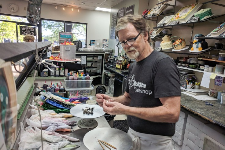 Photo of Jack Phillips, owner of Masterpiece Cakeshop. His refusal to provide a cake for a wedding between two gay men, sparked a series of court cases, ultimately decided by the Supreme Court.
