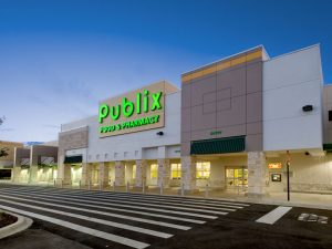 Photo of Publix supermarket location in Florida.