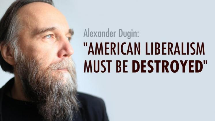Russian fascist Alexander Dugin.