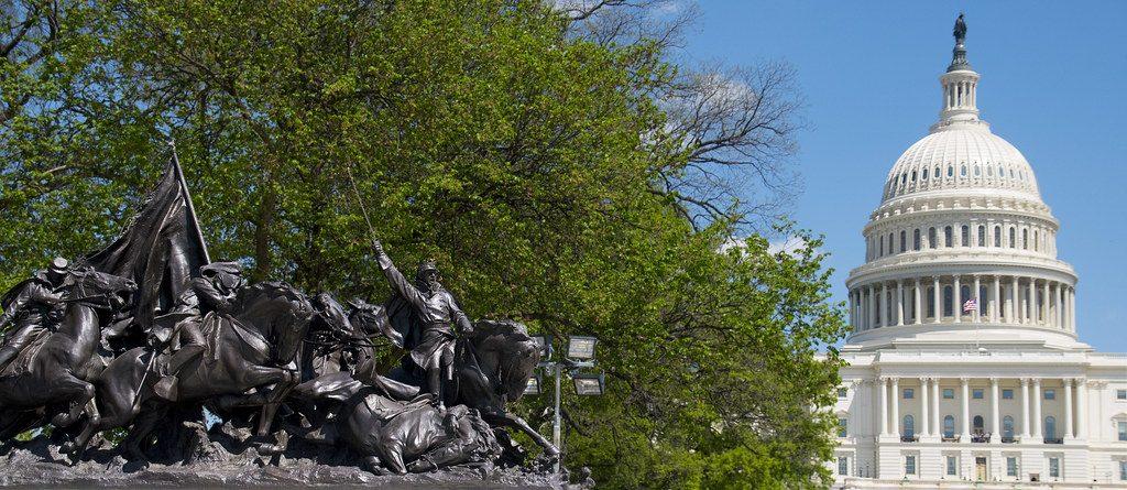 photo of Grant Memorial Capitol Hill, Washington D.C.