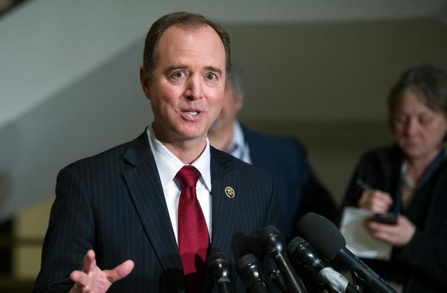photo of Congressman Adam Schiff, Chairman of the House Impeachment inquiry hearings