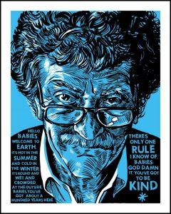 """Kurt Vonnegut's novel, """"God Bless You, Mr. Rosewater."""""""