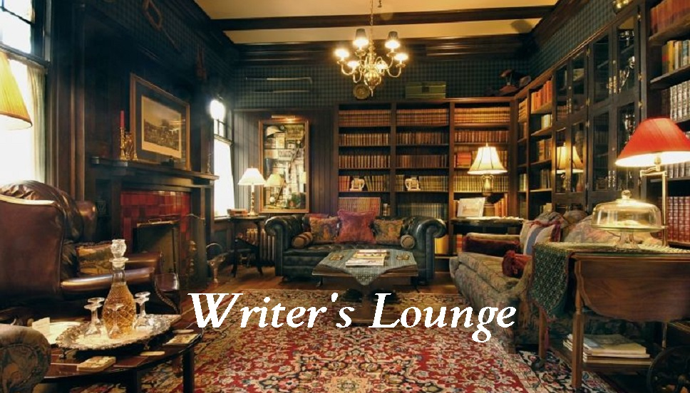photo of classic Victorian era study and lounge