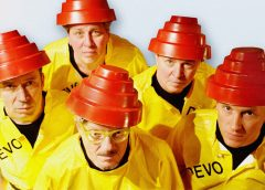 "photo 80's era new wave band of ""Whip It"" fame, DEVO"