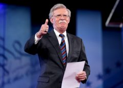 photo of former Trump White House National Security Advisor John Bolton at a speaking engagement