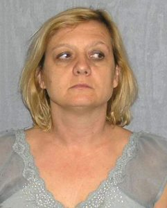 """The mugshot of Russian Spy """"Tracey Foley."""""""