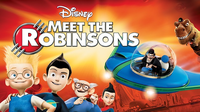 "Disney promotional graphic for the 2007 animated feature ""Meet The Robinsons"""