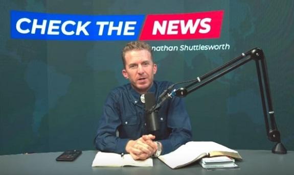 Video still of Jonathan Shuttlesworth, internet evangelist