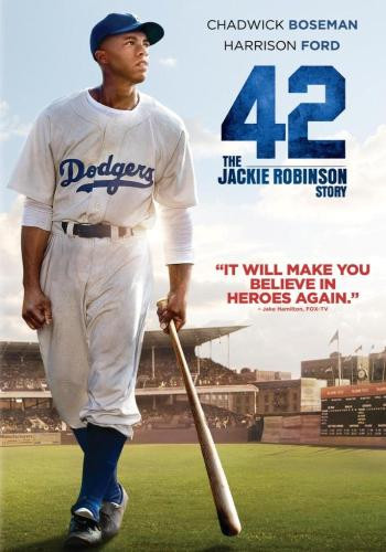 "movie poster of Jackie Robinson biopic, ""42"""