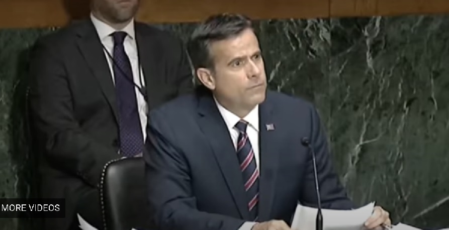 """Writer's Lounge – Trump's DNI Nominee John Ratcliffe, """"Abe Masks"""", The Finest Hours"""