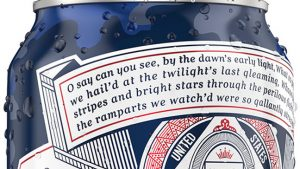 Budweiser-Camo-Can-with-Star-Spangled-Banner-Lyrics