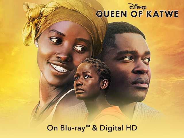 "Image of Disney movie promo for ""Queen of Katwe"""