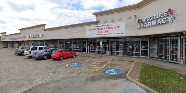 photo of retail center where Fire Power Ministries led by Stella Immanuel, proponent of the unproven coronavirus treatment HydroxyChloroquine