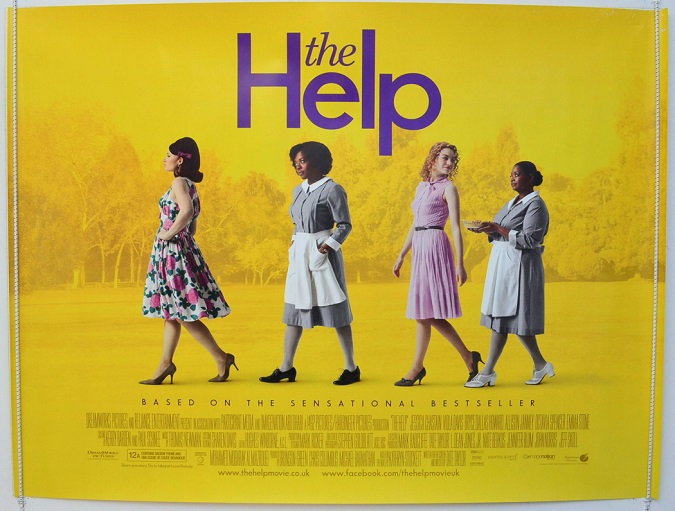 "Original Cinema Quad promotional Poster - for ""The Help"""