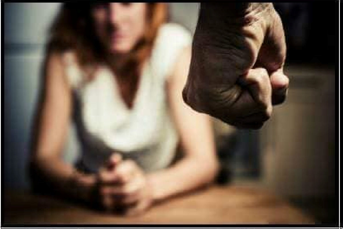 battered spouse or partner facing physical abuse